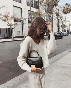 White cropped sweater  Street style, street fashion, best street style, OOTD, OOTD Inspo, street style stalking, outfit ideas, what to wear now, Fashion Bloggers, Style, Seasonal Style, Outfit Inspiration, Trends, Looks, Outfits.