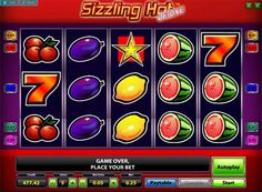 Play Sizzling Hot Deluxe slot machine for money. Online slot Sizzling Hot Deluxe was developed by Novomatic, which is one of the most famous manufacturers of machines. This game is an updated and greatly improved version of the classic slot Sizling hot. The developers kept the risk game and the number of lines, but made more modern graphics and