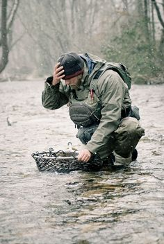 Nice wee story of fly fishing for trout in the cold.