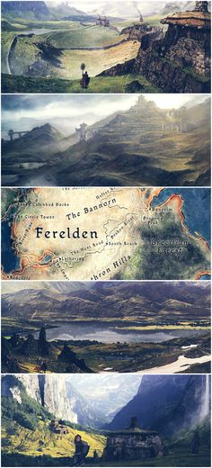 Ferelden, art from The World of Thedas