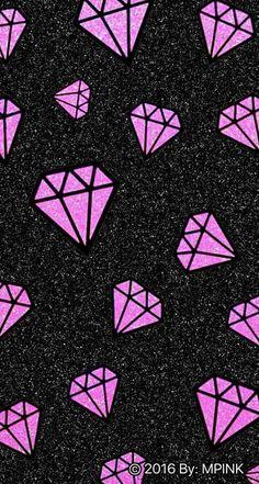 3 Diamonds Iphone Wallpaper Phone Wallpapers Pinterest