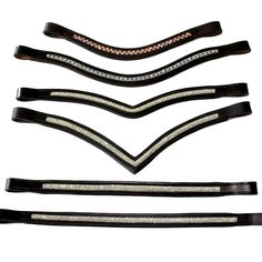 Crystal Browband Deep Vee Style – Saddlery Direct