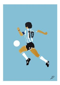 Diego Maradona (New 2020) Poster Print. A4/A3, Maradona, Football, Art, Pop Art, Card, Modern, Poster