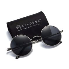 8f691c835187 Let ladies drool over your coolest man styling by availing one of this  polarized sunglass for men/women small round alloy frame summer style  unisex sun ...