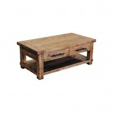 Industrial 4 Drawer Coffee Table ILA001