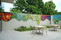 Mosaic Wall Art, Mosaic Diy, Mosaic Garden, Mural Wall Art, Mosaic Crafts, Glass Mosaic Tiles, Stone Mosaic, Garden Art, Art Public