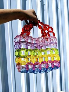 Beaded Purses, Beaded Bags, Handbag Tutorial, Custom Clutches, Ideias Diy, Diy Clothes, Fashion Bags, Purses And Bags, Diamond Cuts