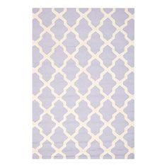 Teppich Ava - Lavendel/Elfenbein