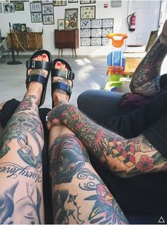 Tattoos and Modifications #TraditionalTattoos