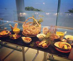 #kaiseki dinner @ #atami #kaihourou #waterbalcony #hassun #foodpresentation #travel #onsen #熱海 #海峯樓 #懐石料理 #八寸 by sakura00eats