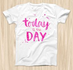The Today is the Day ink-Fuzed Graphic Fashion by TheSkinDudes