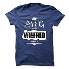 Keep Calm And Let WINFRED Handle It - T Shirt, Hoodie,  - #shirt prints #couple sweatshirt. SIMILAR ITEMS => https://www.sunfrog.com/Names/Keep-Calm-And-Let-WINFRED-Handle-It--T-Shirt-Hoodie-Hoodies-YearName-Birthday.html?68278