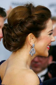 Crown Princess Mary on stage during The Bambi Awards 2014 Show