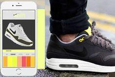 Shift Sneaker, la basket qui change de couleur via une appli mobile