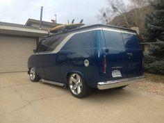 1975 Custom Chevy Van