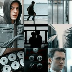 Aesthetic #MrRobot Tyrelliot II Mr Robot, Thing 1, Rami Malek, Madara Uchiha, Most Beautiful People, Movies And Tv Shows, Otp, Collages, Tv Series