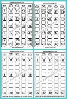 Missing Number Worksheets, Preschool Number Worksheets, First Grade Worksheets, Free Printable Worksheets, Kindergarten Worksheets, Free Printables, Cut And Paste Worksheets, Coloring Pages For Kids, Kids Learning