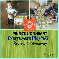 Prince Lionheart Everywhere PlayMAT Review & Giveaway (US) 4/23