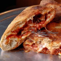 The Kitchen Whisperer Ultimate Pizza Calzone Pizza Calzone Recipe, Pizza Recipes, Dinner Recipes, Cooking Recipes, Pizza Calzones, Calzone Dough, The Best Calzone Recipe, Pepperoni Calzone, Pizza Sandwich