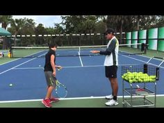 2015 1 12 Aidan with Macci   Serve Part 1 - YouTube