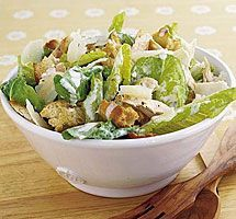 BEST CAESAR SALAD DRESSING 1 cup mayonnaise 1 tbsp lemon juice 1 tsp Worcestershire 1 clove of garlic (minced) tsp salt tsp pepper c Parmesean cheese 1 tbsp of milk or half and half Chicken Ceasar Salad, Chicken Salad Recipes, Bbc Good Food Recipes, Cooking Recipes, Healthy Recipes, Top Recipes, Healthy Options, Dinner Ideas, Fast Recipes