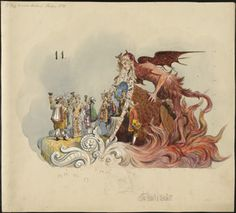 Tulane University's Louisiana Research Collection of Mardi Gras costume and float designs