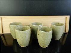 Japanese Karatsu-ware Sencha TEACUP Yunomi w/signed box Age: Teacup, Age, Japanese, Tableware, Ebay, Tea Cup, Dinnerware, Japanese Language, Tablewares