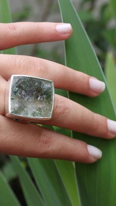 Lodolite is a type of Quartz with many interesting colours and inclusions.