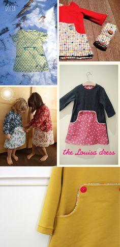 :: paunnet ::: Louisa dress pattern by Compagnie M.