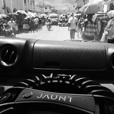 An awesome Virtual Reality pic! In Haiti - when we were not shooting I spent most of the trip with the @jauntvr camera on my lap.  It was hot and humid so I was soaking wet so I threw a towel over my lap and put half the lens caps on - but then directed the Ac blowers at the camera which was like a hot stone.  People would stare as we drove by and surrounded us the minute we popped out of the truck it was hectic but I only felt danger one time (at the airport). We got some great images.  #VR…
