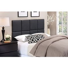 Foremost Tessa Faux Leather Headboard Tiles -- Awesome products selected by Anna Churchill