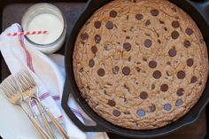 the best chocolate chip skillet cookie!  Just saying.....
