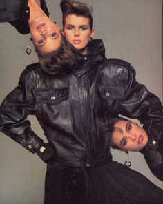 Gianni Versace fw 1984 by Richard Avedon