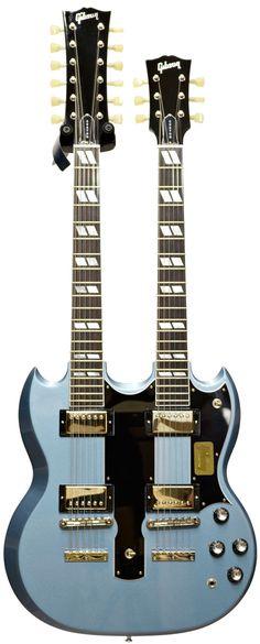 Gibson EDS-1275 60's Doubleneck Pelham Blue
