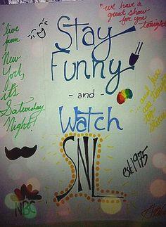 Saturday Night Live Fan Art. #SNL | #SNLFanArt
