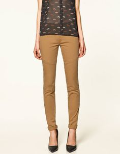TWILL JEGGINGS - Collection - TRF - SALE - ZARA Germany