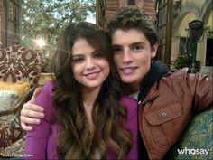 "Gregg Sulkin's, photo,""Mason and Alex are BACK! @elena Gomez #wizards #masonan…"""