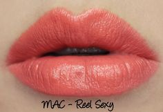 MAC Monday: MAC is Beauty - Reel Sexy Lipstick Swatches & Review