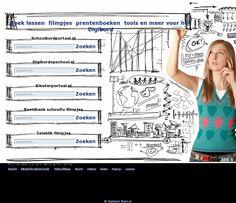 Zoekrobot voor het digitale bord. Hier kan je naar allerlei dingen zoeken die je wil gebruiken op je digitale bord.