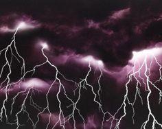 "Thunder and lightning, Eddie Rabbitt said it best, ""I love a rainy night!"" lol"