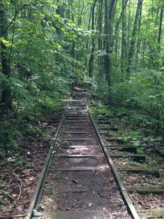 Train tracks.... Blue Ridge Mountains... Virginia