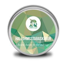 If you get lost in an Icelandic forest just stand up. It is after the largest Icelandic forest; Hallormsstaðaskógur that this beard balm is named Argan Oil, Jojoba Oil, Cocoa Butter, Shea Butter, Vikings, Beard Wax, Nut Allergies, Sweet Almond Oil, Tea Tree