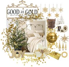 """""""Gold is Good!"""" by catzmeow on Polyvore"""