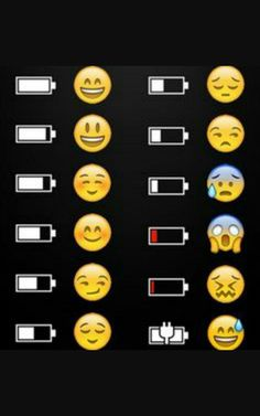 ] The Emoji Explains It funny jokes phone lol humor emoji battery