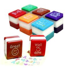 1 New School Mini Teachers Stamper Self Inking Praise Reward Stamps Motivation Sticker For Kids Party Office Stationery Supplies //Price: $2.00 & FREE Shipping //     There is always Room for something like this at home!    While Stocks Last    #twodollarsonly  #valuedollar #wholesaleprices #cheaper #freeshippingworldwide #qualityitems #affordable