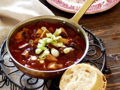 Chili, Soup, Cooking Recipes, Foods, Drinks, Hungarian Recipes, Food Food, Drinking, Food Items