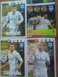 All cards Real Madrid CF