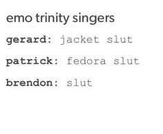 Actually yes the Brendon one is especially true