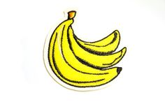 BANANA Embroidered patch quilt patches embroidery fabric sewing sew on wappen