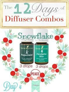 Day 4 of 12 Days of Diffuser Combos